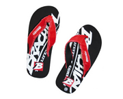 BRACHIAL SANDALIAS HAWAIANAS SANDALS HOLIDAY (44) BLACK/RED