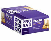 PROBAR BARRA ENERGIZANTE HALO SNACK BAR BOX 12 UNID MARSHMALLOW