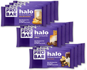 PROBAR BARRA ENERGIZANTE HALO SNACK BAR BOX 12 UNID VARIETY PACK