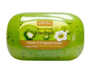 WILD FERNS NEW ZEALAND KIWIFRUIT SOAP JABON DE KIWI 100GR