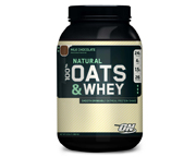 ON 100% NATURAL OATS & WHEY PROTEINA CON AVENA 6 LBS CHOCOLATE