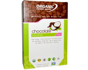 ORGANIC FOOD BAR BARRAS DE PROTEINAS RAW 12 UN COCONUT