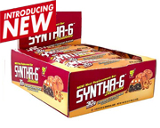 BSN BARRAS DE PROTEINA SYNTHA-6 DECADENCE BOX 12 UN CHOCOLATE