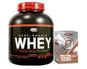 ON 100% WHEY PROTEIN PERFORMANCE 4,3 LBS + MUSASHI P30 PROTEINA