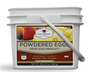 WISE FOOD OUTDOOR EGGS HUEVOS EN POLVO LARGA DURACION 144 SERV
