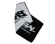 BRACHIAL TOALLA PARA EL GIMNASIO GYM SOFT TOWEL BLACK ONE SIZE