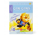 GIN GINS SUPER STRENGTH GINGER CANDY MASTICABLES DE JENGIBRE 30