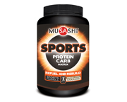MUSASHI PROTEINA SPORTS: CRECIMIENTO MUSCULAR 3 LBS CHOCOLATE